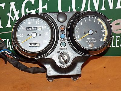 Kawasaki H2 750 Gauges With Ignition And Key Speedo Tach H2B H2C 1974 1975
