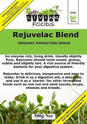 Rejuvelac 500g  Organic ( Sprouting Seeds , Sprouts )