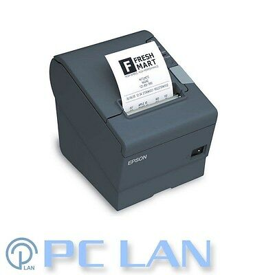 EPSON TM-T88V USB/Parallel PSU Thermal Receipt Printer include IEC&USB Cable