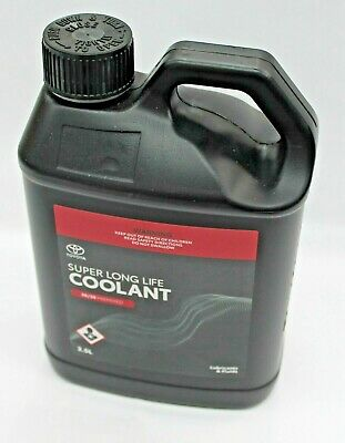 Toyota Super Long Life Coolant Anti Freeze Anti Boil 2.5L Bottle New Genuine
