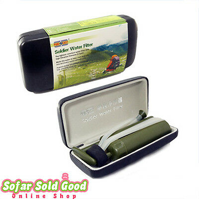 Soldier's Hiking Camping Pure Ceramic Water Filter Purifier