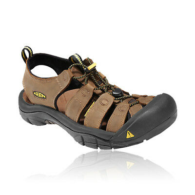 Keen Newport Mens Brown Walking Outdoors Trail Summer Shoes Strap Sandals