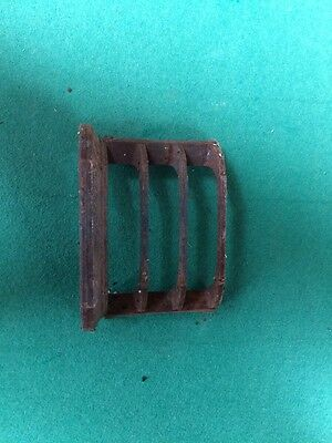 Antique Cast Iron Fire Bars / Fret / Front Bars