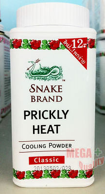 Prickly Heat Powder Snake Brand Classic Cooling 50 g.