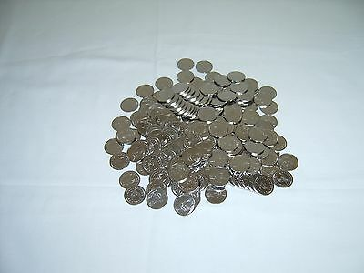 150  ==Newly Minted== Stainless Steel Non-Magnetic Skill Slot Machine Tokens