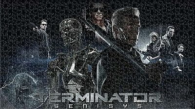 Arnold Terminator Genisys Jigsaw Puzzle Movie Mural Home Wall Art 500 pieces