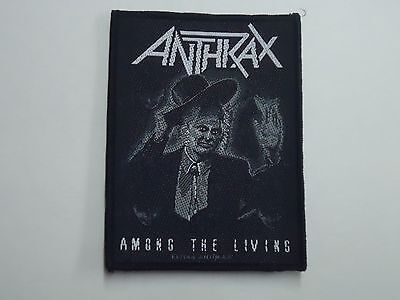 Anthrax Among The Living Woven Patch