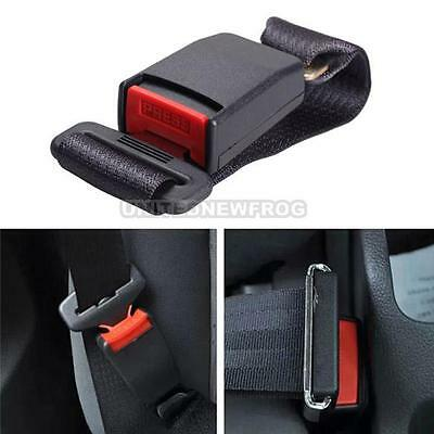 Universal Car Vehicle Seat Belt Clip Extension Extender Strap Safety Buckle Bus