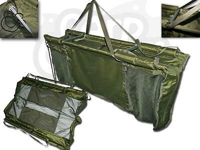 Deluxe Captur Carp Fishing Floating Floatation Retainer & Weigh Sling Carry Case