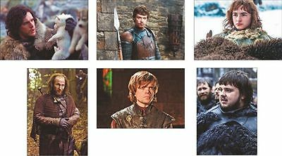 Game of Thrones Great New Postcard Set #7