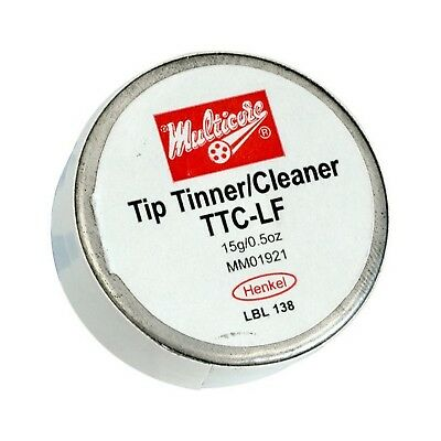 15Gm Tip Tinner / Cleaner Lead Free Multicore