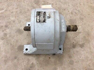 Fmc Link-Belt In-Line Helical Gear Speed Reducer Cdi-72 Ratio 11.4