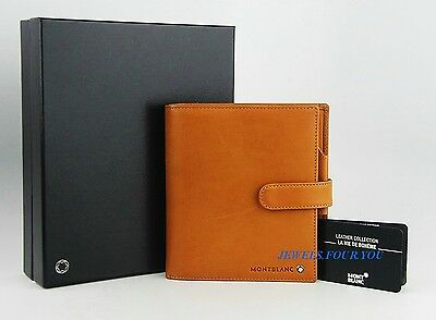 Montblanc Meisterstuck Small Natural Leather Organizer Note 101761 Germany New 1
