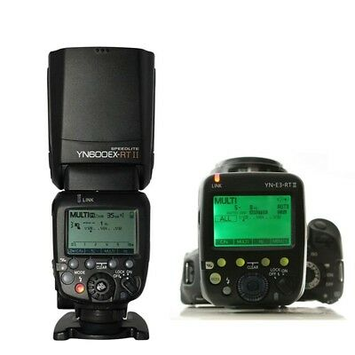 YongNuo YN600EX-RT II Wireless Speedlite Flash YN-E3-RT II Transmitter For Canon