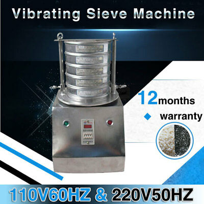 Electric Vibrating Sieve Machine for Granule, Powder,Slice with Different Screen