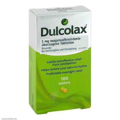DULCOLAX Dragees magensaftresistente Tabletten 100 St PZN: 07682089