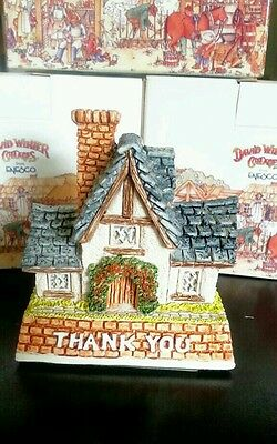 "David Winter Cottages, 1997 ""Thank YOU Gift"" NIB"