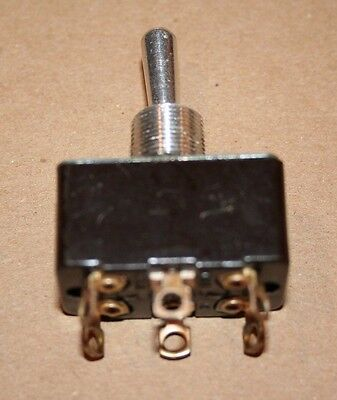 Leviton UND LAB INC DPDT Toggle Switch ON-OFF-ON 10A-250VAC 15A-125VAC New