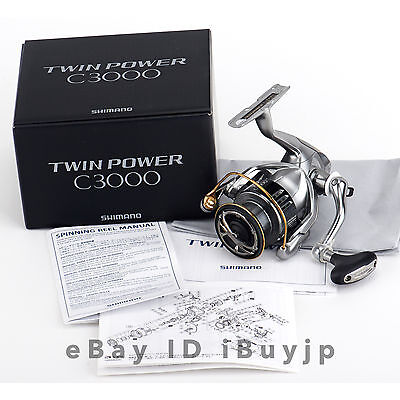 *NEW* Shimano 15 Twinpower C3000 Saltwater Spinning Reel 033697