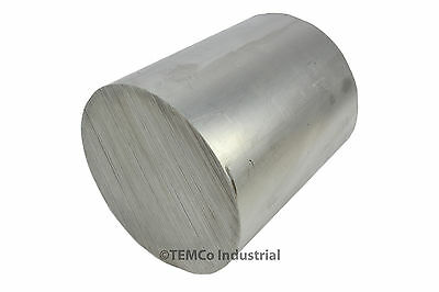 "3.5"" Inch Diameter 4"" Long 6061 Aluminum Round Bar Lathe Rod Stock"