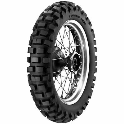 Dunlop NEW D606 Street Legal Knobbys DOT 120/90-18 Offroad Motorcycle Rear Tyre