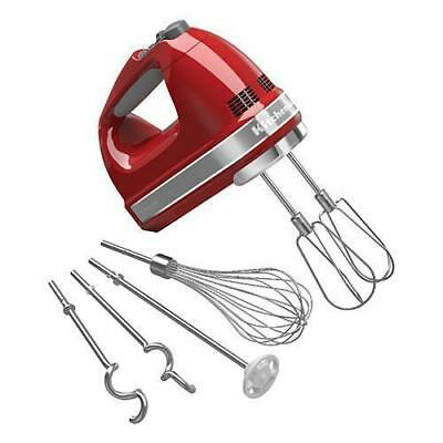 KitchenAid Hand Mixer KHM926, Empire Red, Kitchen Aid Equipment