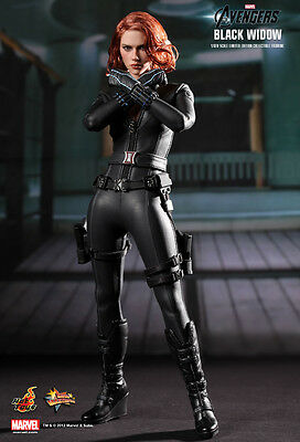 Hot Toys 1/6 Marvel Avengers Mms178 Black Widow Natalia Romanova Action Figure