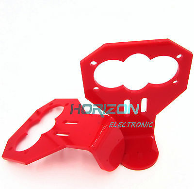 10pcs RED Cartoon Ultrasonic Sensor Fixed Bracket for HC-SR04 Ultrasonic