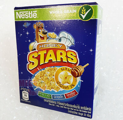 Nestle Honey Stars Cereals Made With Whole Grain 20 g.