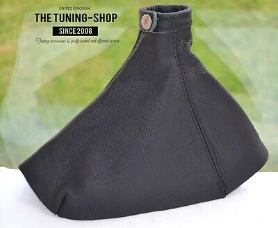 FOR VAUXHALL OPEL ASTRA H GEAR GAITER BLACK LEATHER without removing gear knob