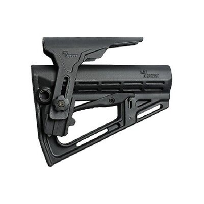 TS1 IMI Defense Black Tactical Stock with Polymer Non-Slip Cheek Rest