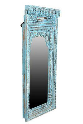 India Carved antique mirror around 60 years
