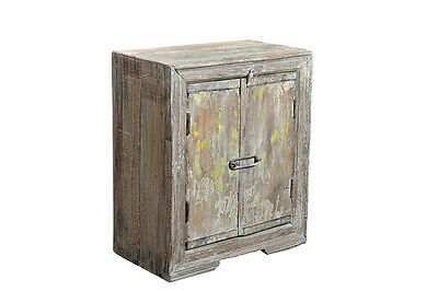 Antique bedside table double wooden door India Luxury Park