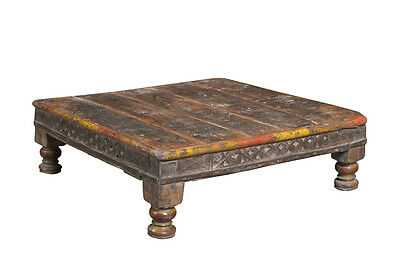Coffeehouse table antique India Rajastahan 1890 Luxury Park