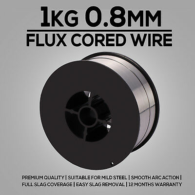1kg 0.8mm Gasless Mig Welding Wire E71T-GS Flux Cored Welder Wire All Positions