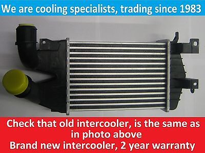 Brand New Intercooler Vauxhall Astra H 2004 To 2009 / Zafira B 2005 To 2011 Cdti