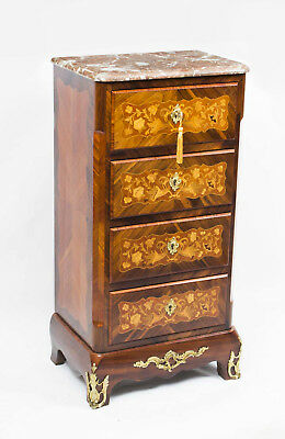 Antique French Rosewood Secretaire Chest c.1860