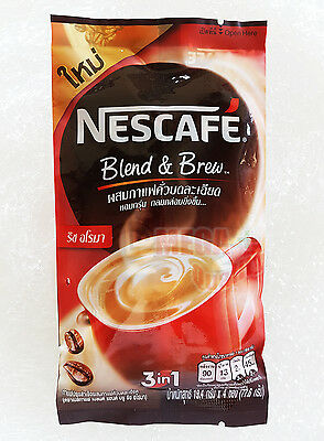 Original Nescafe 3 In 1 Taste Instant Coffee Mix Powder 4 Sticks