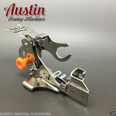 Sewing Machine Ruffler Foot Attachment Lowshank For Janome Brother Singer Toyota