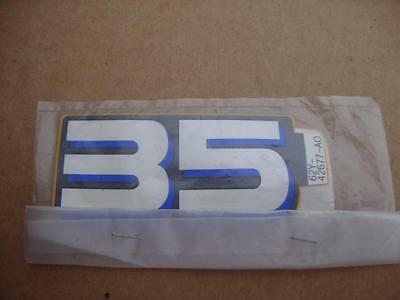 OEM Yamaha front graphic 62Y-42677-A0-00 outboard 35 HP