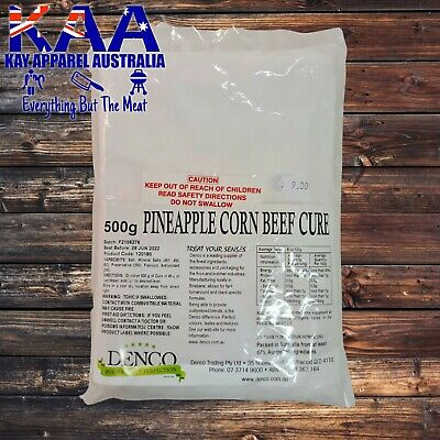 Butchers Pineapple Corn Beef Meat Pumping Cure/Brine/Compound Butchers/Hunters