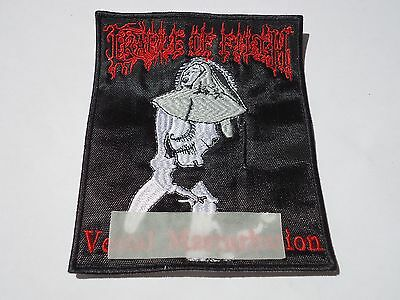 Cradle Of Filth Embroidered Patch