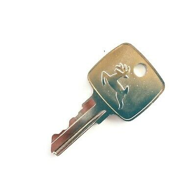 John Deere Ignition Key for Loaders Tractors Backhoes Genuine - OEM Logo AR51481