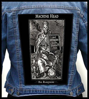 MACHINE HEAD --- Giant Backpatch Back Patch / Chimaira Trivium Prong DevilDriver