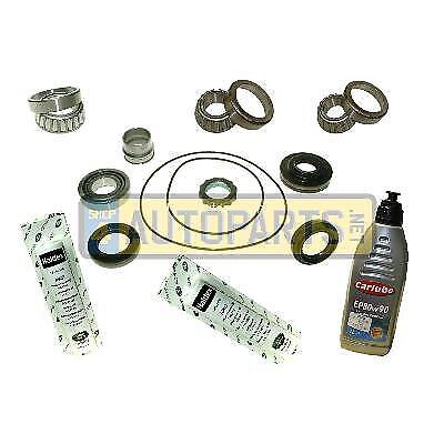 Freelander 2 Rear Diff Repair Overhaul Kit Full Bearing Set And Oil