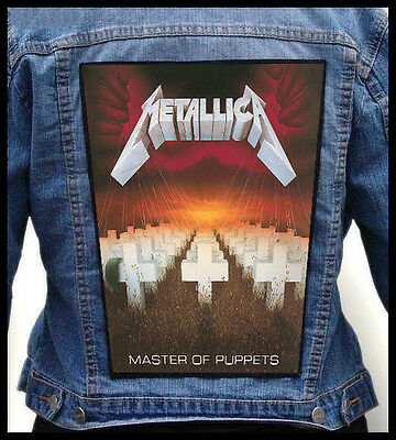 METALLICA - Master Of Puppets  --- Giant Backpatch Back Patch /