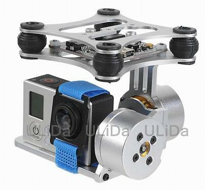 FPV 2 Axis Brushless Gimbal With Controller For DJI Phantom GoPro Cheerson CX-20