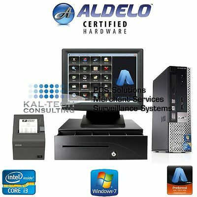 Aldelo Pro Restaurant Bar Bakery Pizza Pos Complete Station Windows 7 New