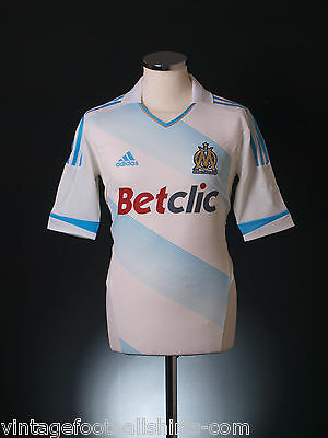 2011-12 Olympique Marseille TechFit Player Issue Home Football Shirt *BNIB* M-L