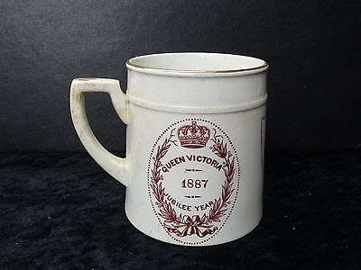 Queen Victoria 1887 Jubilee Commemorative Mug, with Romsey Crest/Mayor Purchase